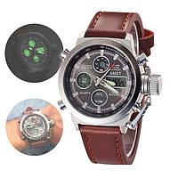 Мужские наручные тактические часы AMST / Армейские военные часы
