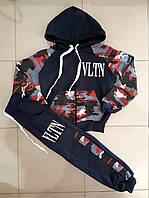 """Спортивный костюм  """"VLTN"""" на мальчика.  Размеры ( 3 ; 4 ; 5 ; 6 ; 7 лет )"""