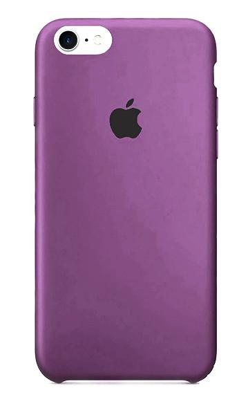 Задняя накладка Hi-Copy Silicone Case APPLE IPHONE 7 | 8 (№45 PURPLE)