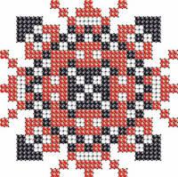 Схема на ткани для вышивания бисером Анастасия КМР 7103