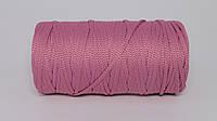 Полиэфирный шнур  4-5мм оттенок Цикламен