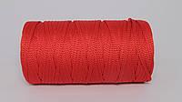 Полиэфирный шнур  4-5мм оттенок Красный