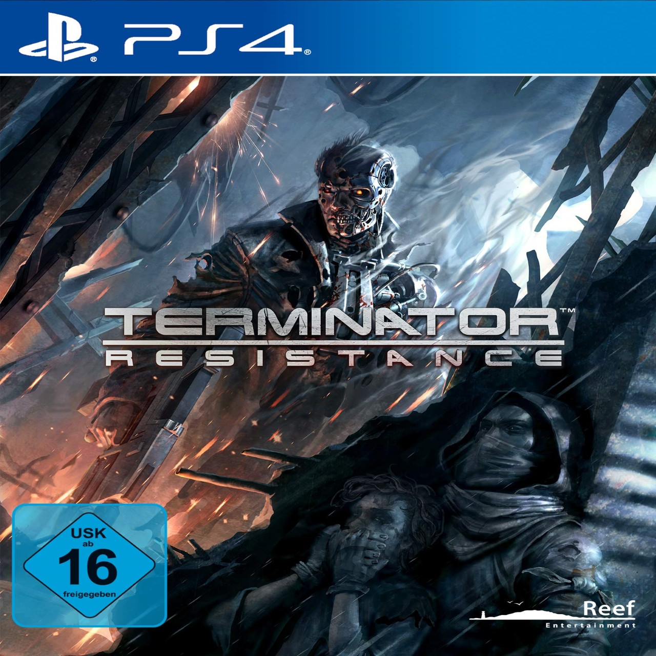 Terminator Resistance (англійска версія) PS4