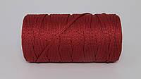 Полиэфирный шнур  4-5мм оттенок Бордо