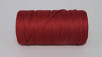 Полиэфирный шнур 4мм оттенок Бордо