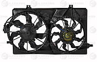 Электровентилятор радиатора Приора Halla  (2 мотора)