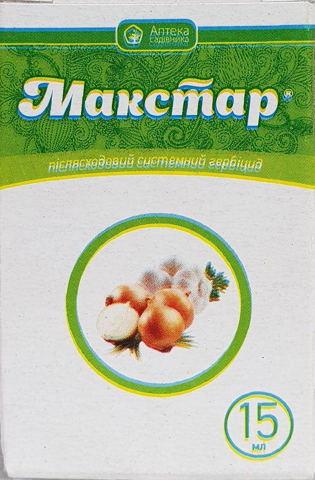 Макстар гербицид для газона, 15 мл
