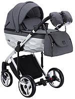 Детская универсальная коляска 2 в 1 Adamex Star Polar Star 3