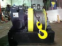 Лебедка ЛМ-140 с жестким приводом