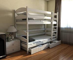 Двуспальная (двухъярусная) детская кровать Лакки LUNA