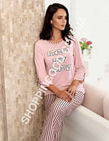 Женская пижама Mel Bee (Sahinler) MBP 22353, костюм домашний с брюками