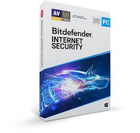 Антивірус BitDefender Internet Security 2021 1 ПК на 1 рік (електронна ліцензія)