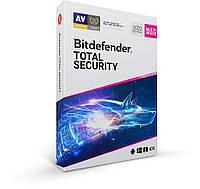 Антивирус BitDefender Total Security 2020 10 ПК 1 год (электронная лицензия)