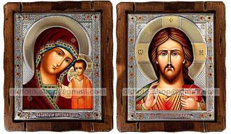 Иконы Венчальные (посеребренный оклад)