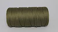 Полиэфирный шнур  4-5мм оттенок Олива