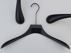 """Плечики Premium серии """"Elegante"""" черного цвета, длина 44 см Mainetti Group Италия"""