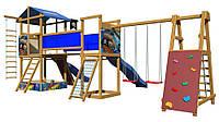 Детская площадка SportBaby синяя горка / Детские площадки