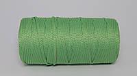 Полиэфирный шнур  4-5мм оттенок Светло-зеленый