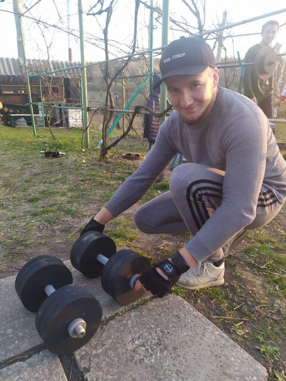 Гантели наборные 2 по 26 кг с покрытием. 25 мм