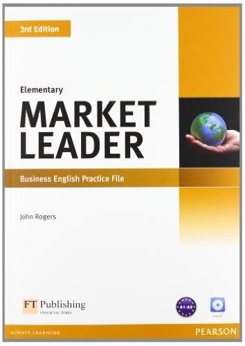 Market Leader 3rd Edition Elementary Practice File with Audio CD