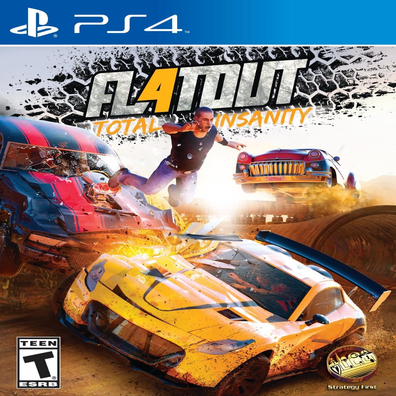 FlatOut 4: Total Insanity (русские субтитры) PS4
