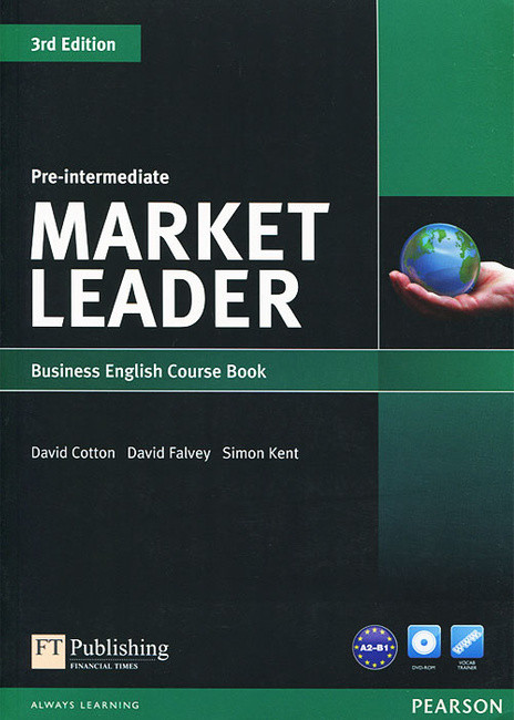 Market Leader 3rd Edition Pre-Intermediate Course Book with DVD-ROM