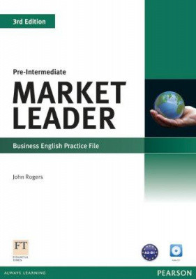 Market Leader 3rd Edition Pre-Intermediate Practice File with Audio CD