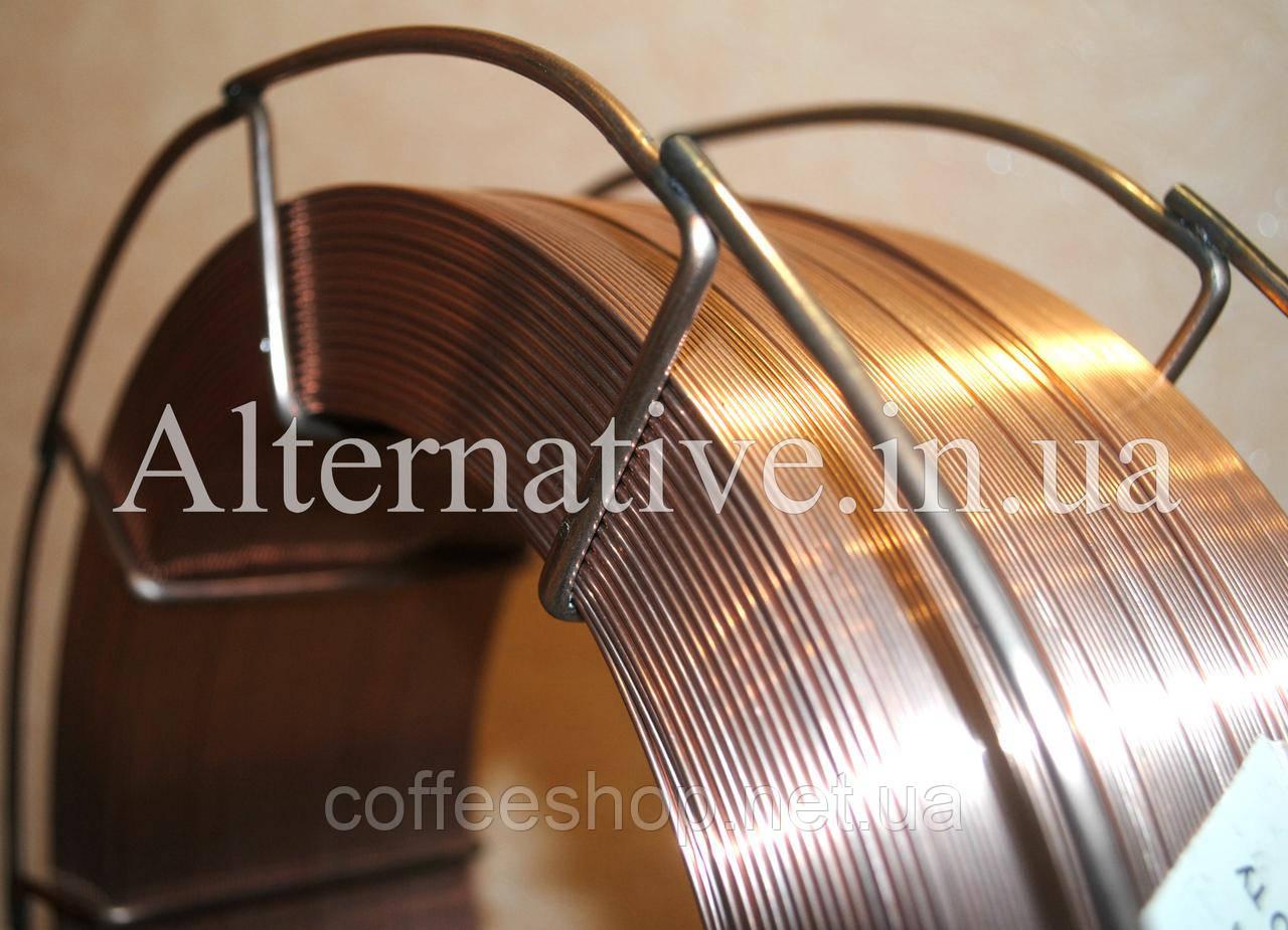 Сварочная проволока СВ08Г2С диаметром 0.8 мм (кассеты по 15 кг)