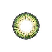 Контактные цветные линзы FreshTone 19. Lime