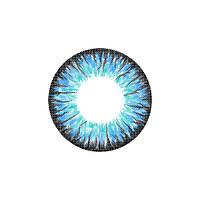 Контактные цветные линзы FreshTone 24. Blue Sky
