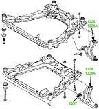 13-37 Сайлентблок переднего рычага передний Nissan Leaf, Juke, Murano, Pathfinder, Teana; Infiniti QX60; 545011KA0B, фото 3