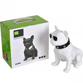 Колонка портативная Собака большая CH-M10, 20,5*19*11,5см