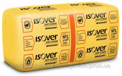 Минеральная вата ISOVER Звукозащита 100 мм (610х1170 мм) 7,14 м2