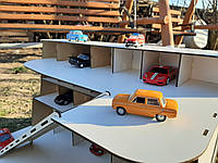 Парковка для машинок, паркінг, гараж