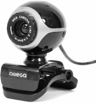 Веб-камера с микрофоном Omega OUW10SB 12Mpix (i) + MIC BLISTER