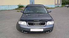 Дефлектор капота (мухобойка) Audi A6 (4В,С5) 1997-2004