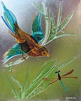 Фьюзинг (декоративный витраж из расплавленного стекла)