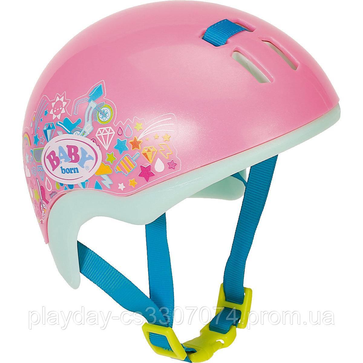 Шлем для куклы розовый Baby Born Zapf Creation