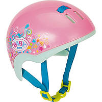 Шлем для куклы розовый Baby Born Zapf Creation, фото 1