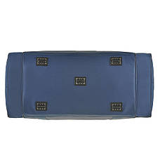 Дорожная сумка Wallaby большая 63х36х27 синяя нейлон в 430син ж, фото 3