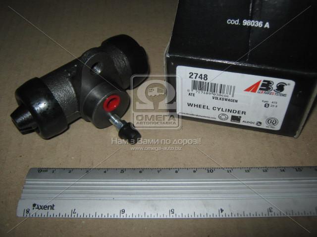 Цилиндр тормозной рабочий задний VOLKSWAGEN T4 (пр-во ABS)