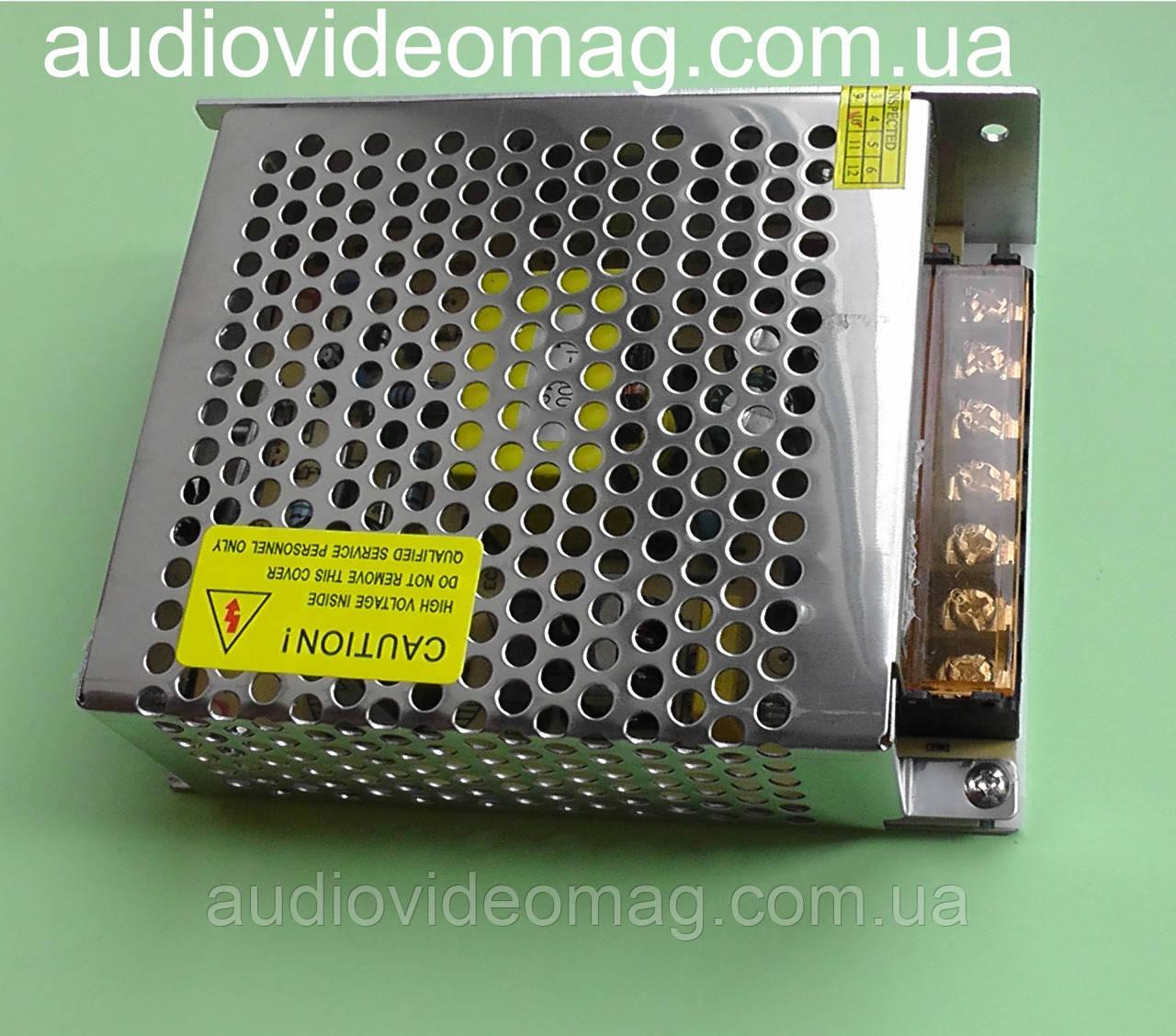 Блок питания 12V 10A (IP20) 120 Wt для светодиодных лент