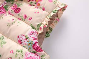 Детская жилетка цветы, фото 3