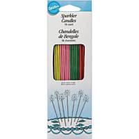 Декоративные свечи с блестками для тортов Sparkler Candles (W1230)
