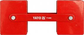 Магнитная струбцина для сварки регулируемая YATO YT-0862