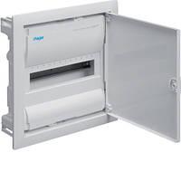 Распределительный щит VOLTA  для скрытой установки с металлической дверцей на 12 модулей (1-рядный)