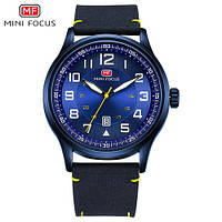 Часы мужские кварцевые MINI FOCUS MF0166G, цвет синий ( код: IBW322Z )