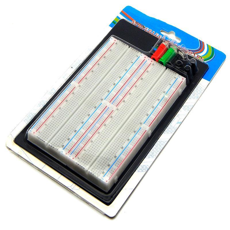 Макетная плата Arduino расширенная 1660-MB точек Breadboard