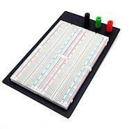 Макетная плата Arduino расширенная 1660-MB точек Breadboard, фото 4