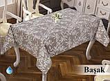 Скатерть тефлоновая прямоугольная MAISON ROYALE deluxe Basak 160*220, фото 2